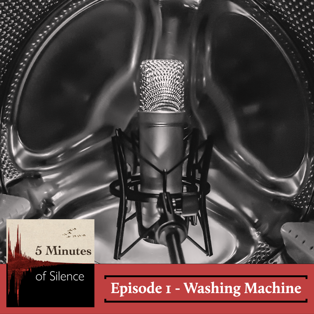 5 Minutes of Silence - Episode 1 - Washing Machine Cover Art